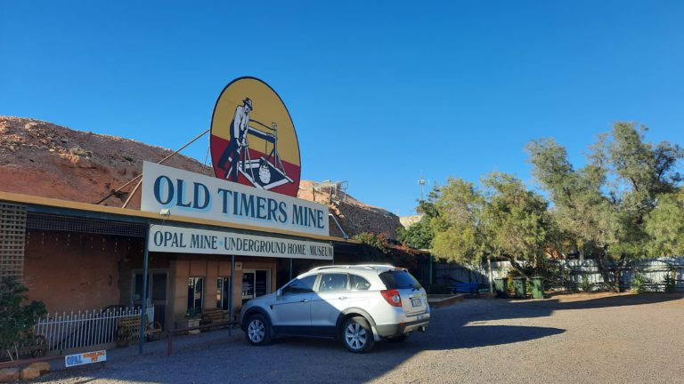 Spotlight on a great tourism business – Old Timers Mine, Coober Pedy, Australia.